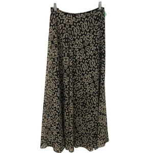 DKNY Sheer Lined Maxi Skirt, Size 10